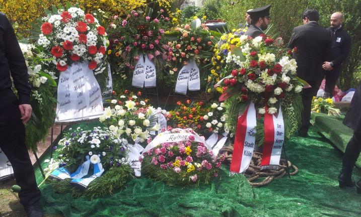 Ali Kurt Beerdigung