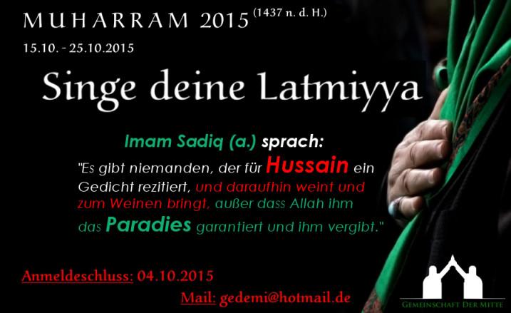 Latmiyya Köln GdM
