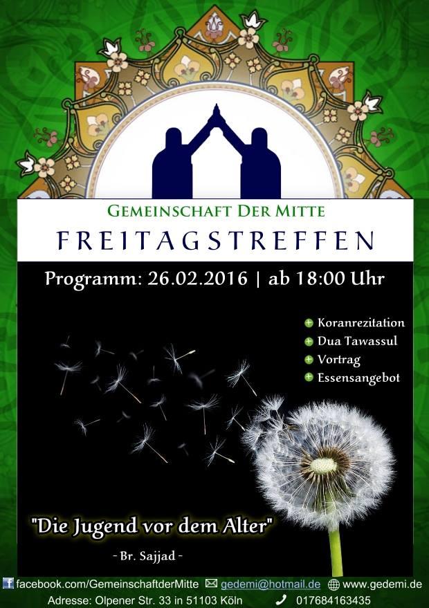 Freitagstreffen Köln