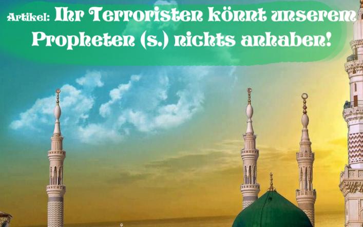 Islam gegen Terror Prophetenmoschee