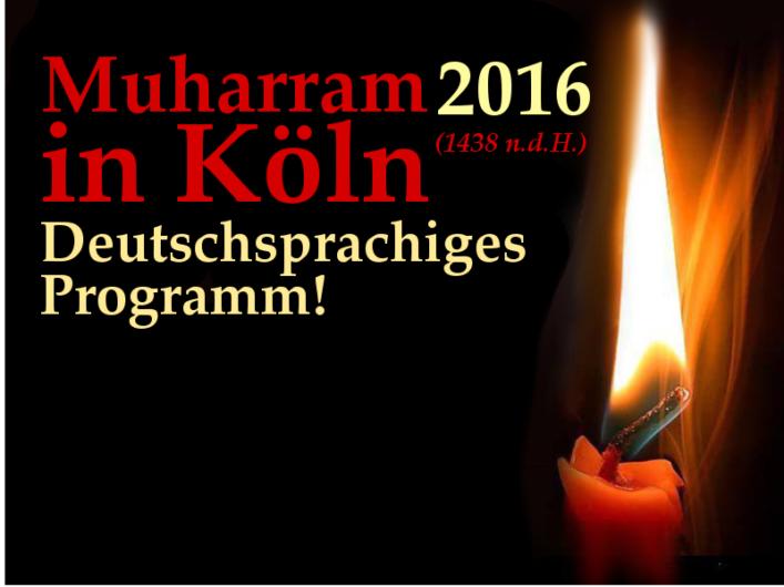 muharram 2016 GDM Köln