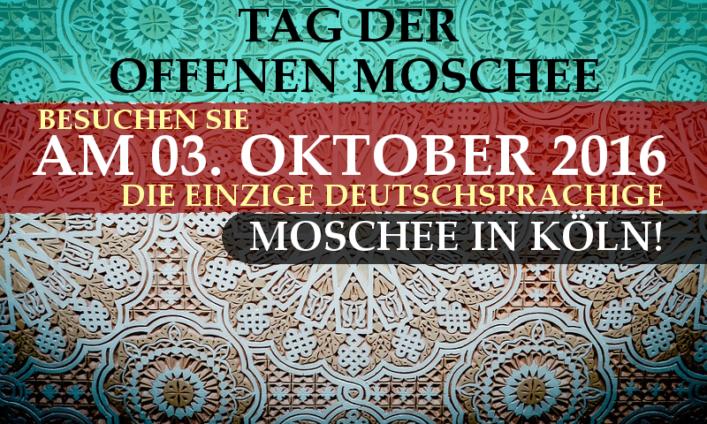 Tag der offenen Moschee 2016 Köln