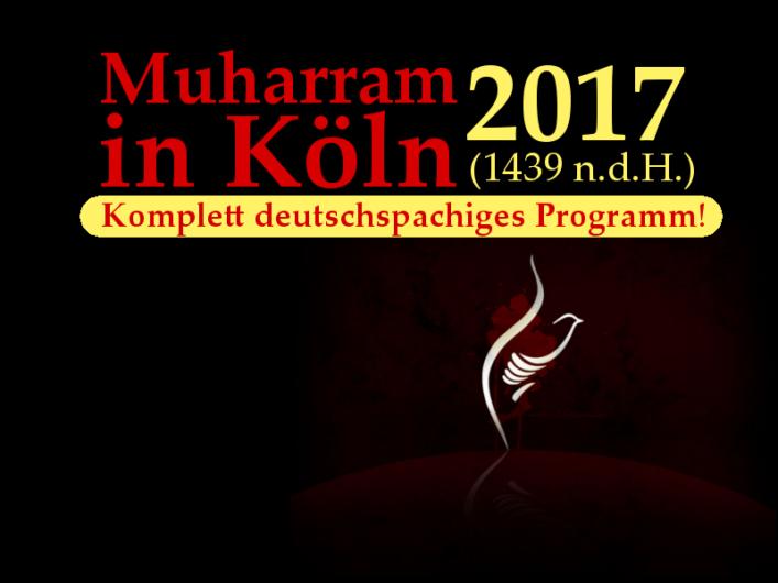 Muharram 2017 Köln