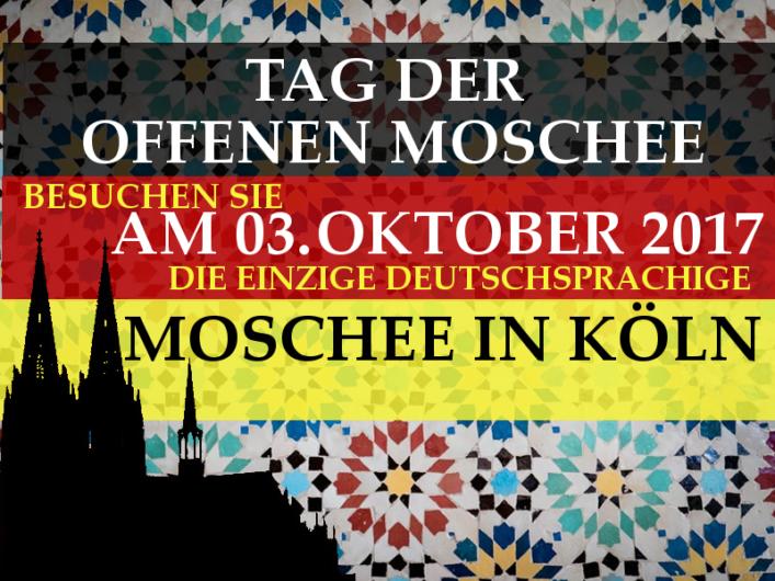Tag der offenen Moschee 2017 Köln